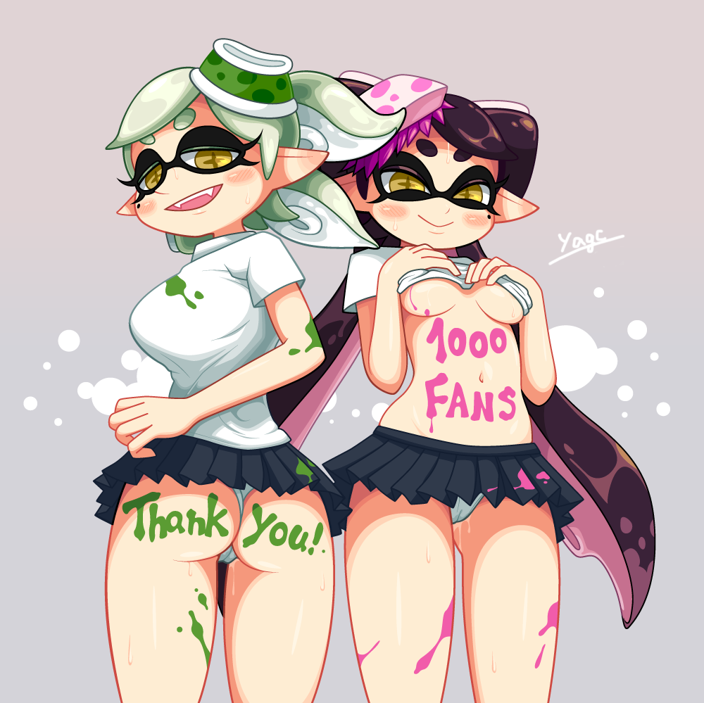 splatoon squid sisters Borderlands 2 safe and sound pictures