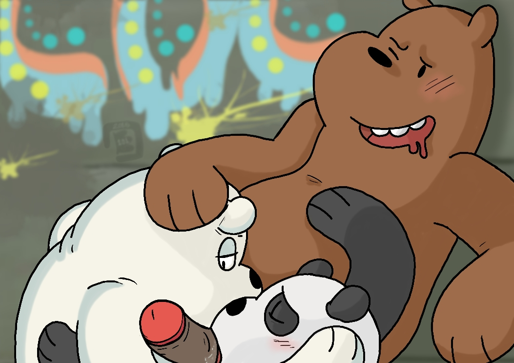 ranger we bare bears tabes King of fighters