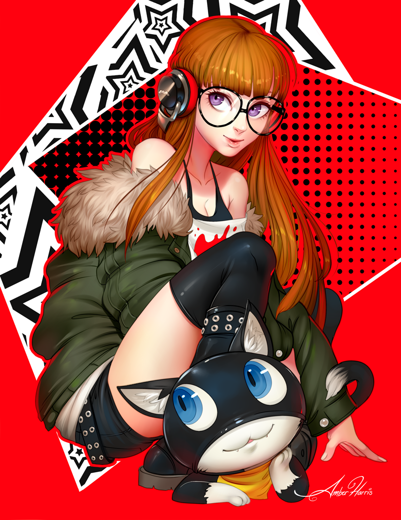morgana form 5 human persona My neighbor is a sissy