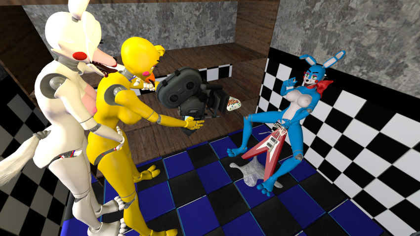 freddy toy chica fnaf x toy Nora to oujo to noraneko hear