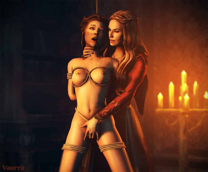 nude game thrones sansa of Panty and stocking with garterbelt stocking