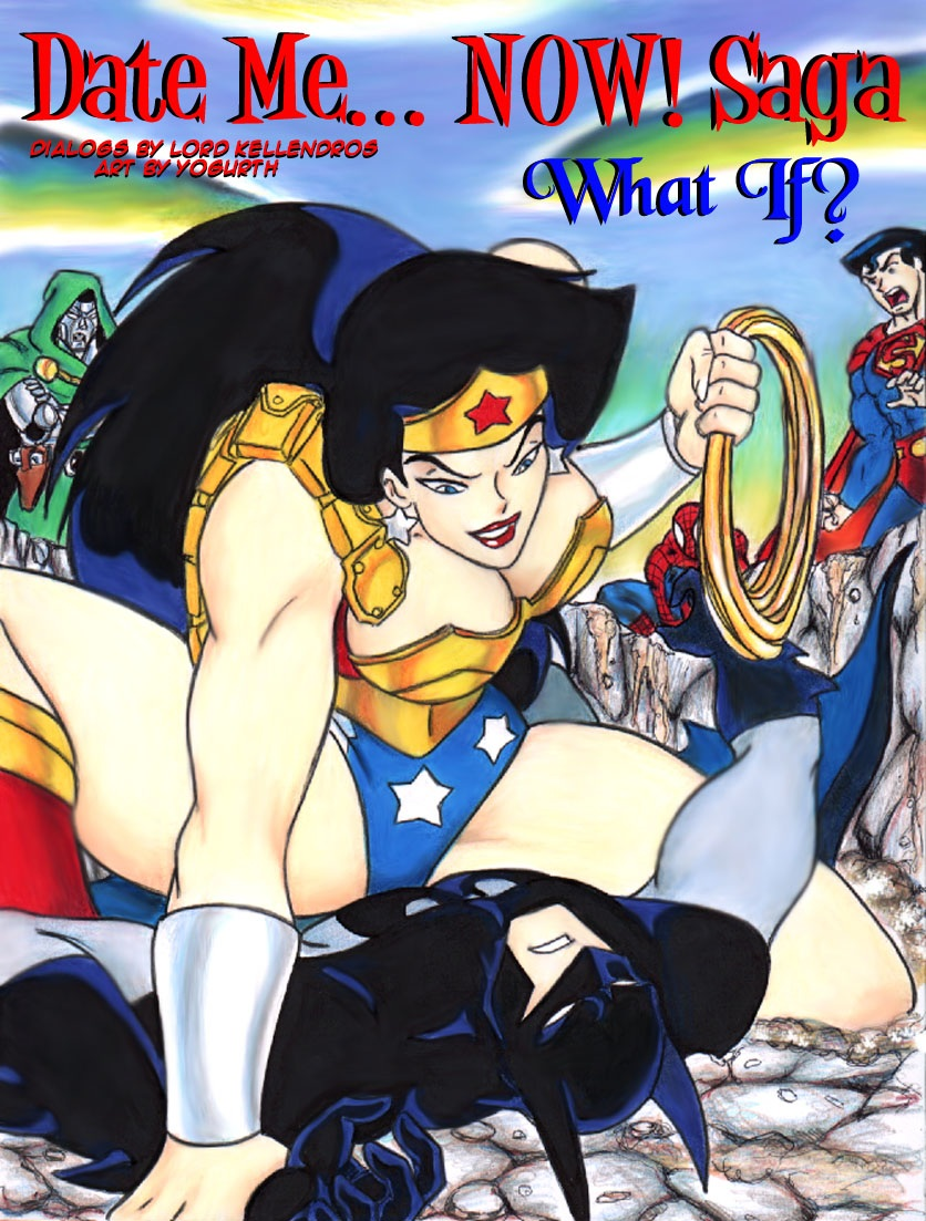 xxx and superman wonder woman How to get a male ditto