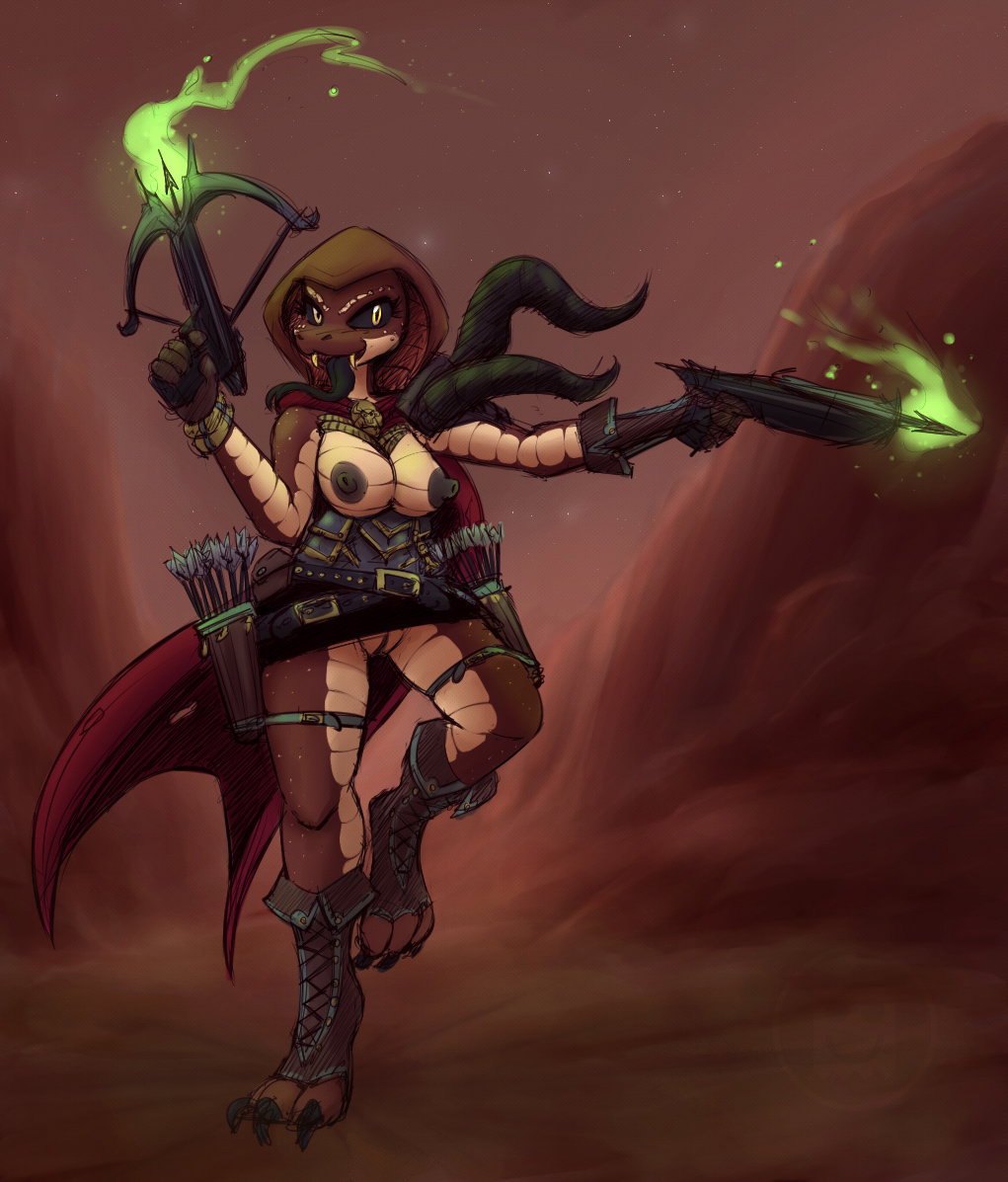 3 diablo demon hunter female How not to summon a demon lord nudity